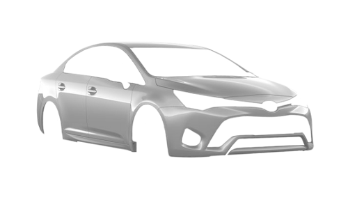 Цвета кузова Avensis